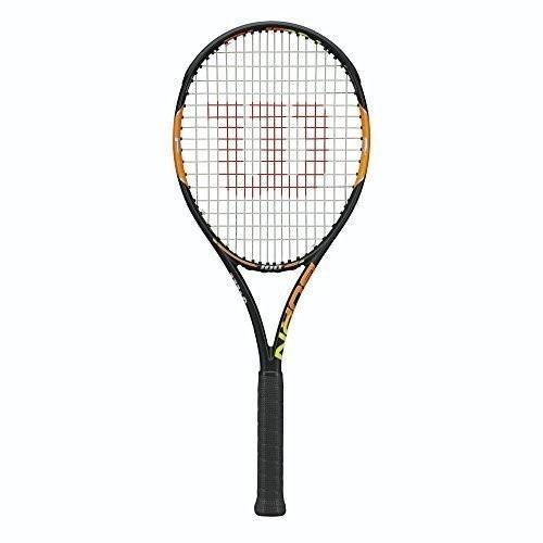 テニスラケットWilson Burn 100 Tennis Racquet, 4 1/8-Inch
