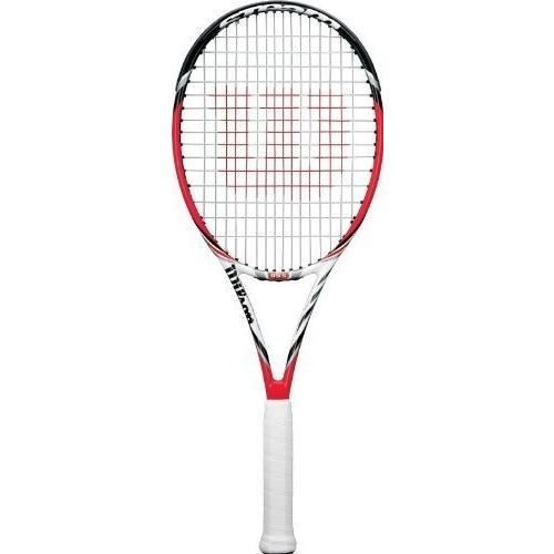 テニスラケットWilson Steam 99S Spin Effect Tennis Racquet, 4.25