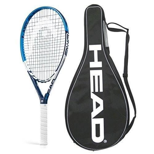 テニスラケットHead Graphene XT PWR Instinct Tennis Racquet - STRUNG with COVER (4-1/4)