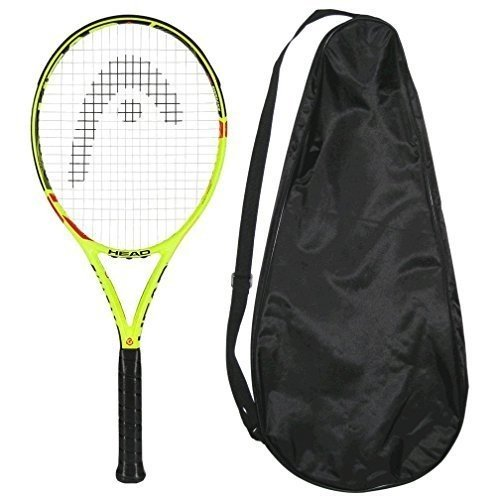 テニスラケットHead 2015-2016 Graphene XT Extreme Lite STRUNG with COVER Tennis Racquet (4-3/8)