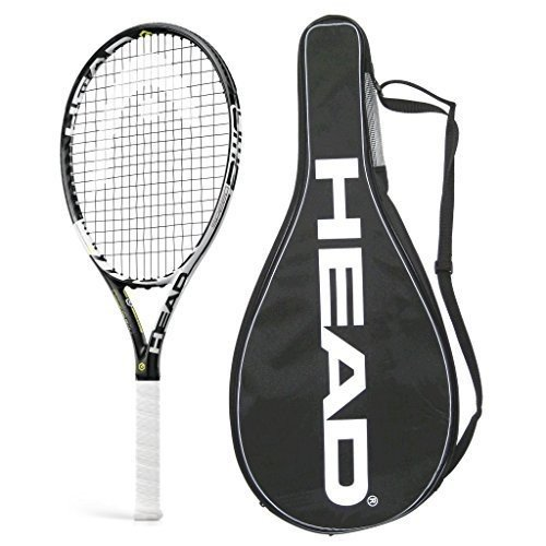 テニスラケットHead 2015 Graphene XT Speed PWR STRUNG with COVER Tennis Racquet (4-1/2)