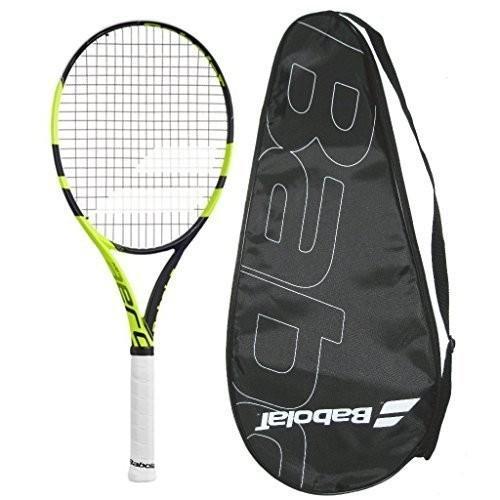 ★お求めやすく価格改定★ テニスラケットBabolat Pure Aero Lite Tennis Racquet - 2016 AeroPro Lite - Strung with Cover (4-3/8), 当麻町 676d7b0b