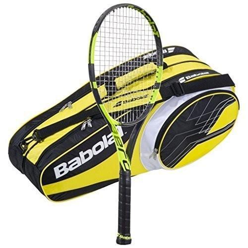 【税込】 テニスラケットBabolat Pure Aero Pure Tennis (Ye Racquet AeroPro - 2016 AeroPro Drive - STRUNG with 6 Racquet Bag (Ye, セレクトショップアン:3e3fc5fa --- airmodconsu.dominiotemporario.com