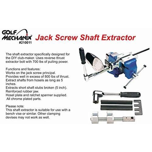 Golf-Mechanix DIY エコノミー ゴルフシャフト抜き・脱着工具 入門モデル2016