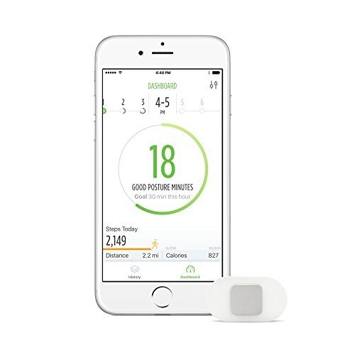 Lumo Lift Posture Coach and Activity Tracker requires the free Lumo Lift iOS/Android app
