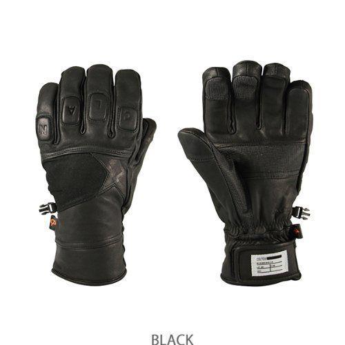 (セルテック) Celtek AVIATOR 黒 メンズスノーグローブ スキースノーボード手袋