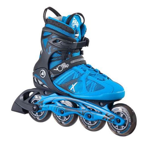 ケーツー K2 インラインスケート ブーツ VO2 90 PRO BLACK&BLUE