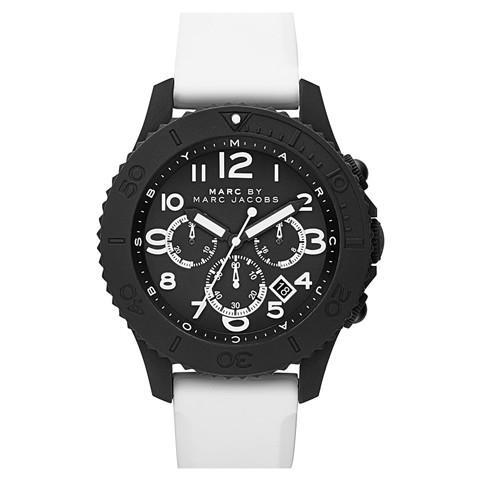 超安い品質 マークジェイコブス メンズ腕時計 ロック MBM5525 ブラック×ホワイト, SHOP CARVES(カーヴス):9082bd49 --- airmodconsu.dominiotemporario.com