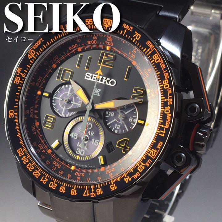 ★海外限定モデル★セイコー/SEIKO/プロスペックス/ソーラー/SS/43mm/クロノグラフ/男性用プレゼント/SSC277/メンズ腕時計WW1133 worldwatches