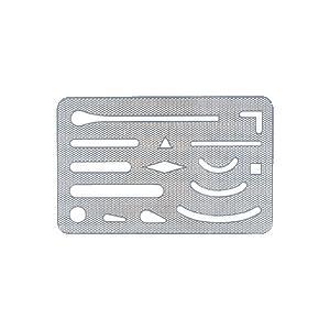 ステッドラー ステンレス字消板 メッシュタイプ 929 50|wow