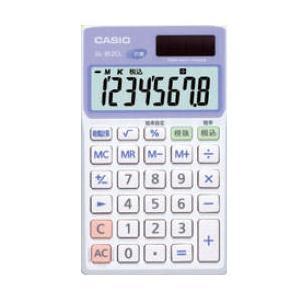 カシオ 電卓8桁 手帳タイプ 抗菌電卓 SL-302CL-N|wow