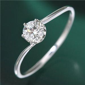 お見舞い プラチナ0.3ct ダイヤリング 指輪 7号, カマガリチョウ 73de3327