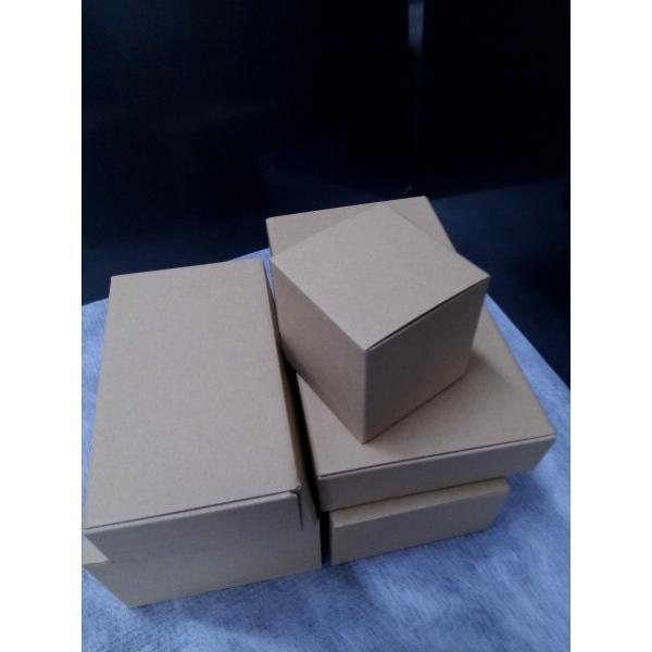 ボックス茶 縦180×横290×高さ140mm 10枚セット 丈夫でナチュラル風合い(茶色) Z-16|wrapping1