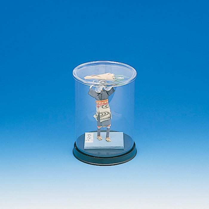 配送員設置送料無料 ウィンナーケース コレクションケース 丸型12x16 組み立て式 φ12xH16cm 1個入り SALE
