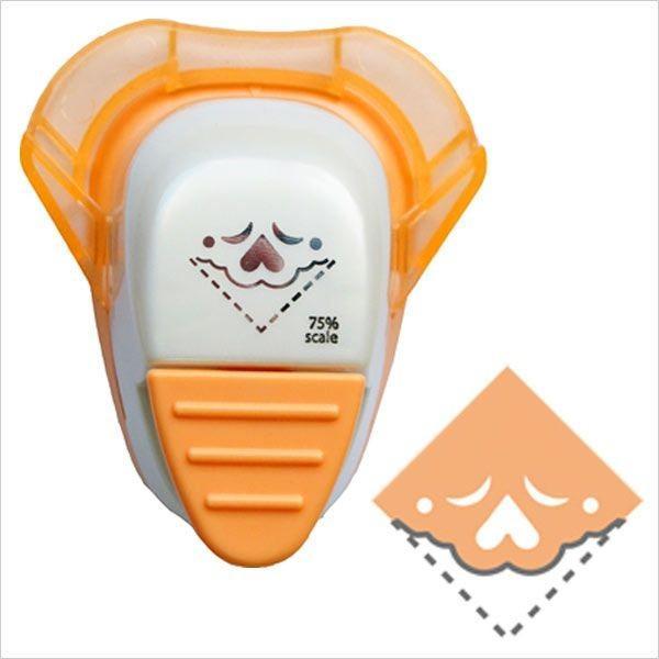 クラフトパンチ キュアパンチ コーナー 送料無料 新品 SBKPC110-12 ポップ ハート 期間限定