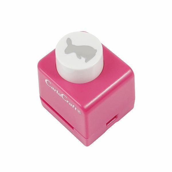 カーラクラフト クラフトパンチ CN12131 格安 お洒落 ミニクラフトパンチ 絵柄 ラビット-A