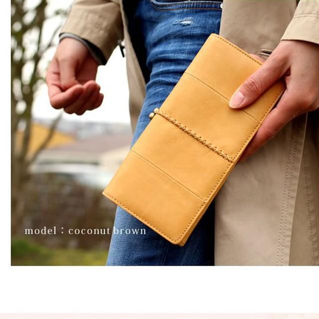 長財布 レディース がま口 本革 ブランド 革 大容量 使いやすい 軽量 財布 レディース 長財布 新品 がま口 プレゼント ギフト ラマーレ 女性|wraps|13