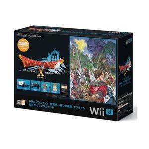 新品 WiiU本体同梱版 ドラゴンクエストX 目覚めし五つの種族 オンライン Wii U プレミアムセット