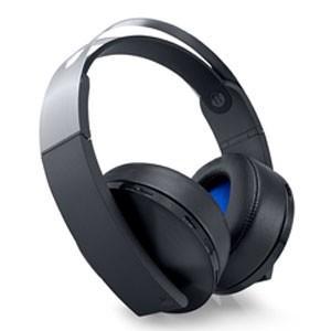 【新品】PS4周辺機器 プレミアムワイヤレスサラウンドヘッドセット (CUHJ-15005) (ソ