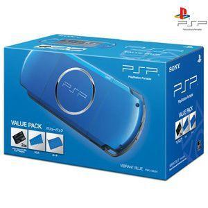 【新品】PSP プレイステーション・ポータブル バリューパック バイラント・ブルー PSPJ-30024