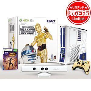 【特価【新品】Xbox 360 320GB Kinect スター・ウォーズ リミテッド エディション