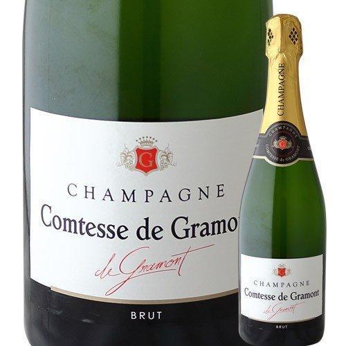 物品 SALE ワイン シャンパン コンテス ド 低廉 グラモン シャンパーニュ フランス NV 白 ブリュット wine 750ml