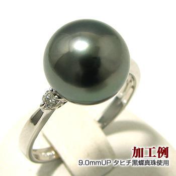 定番 【受注発注品】2石ダイヤが煌く リング枠(指輪金具) ホワイトゴールド K18WG ホワイトゴールド K18WG 0.10ct 0.10ct (8〜10mm珠対応) [n5], じゅえりぃ ばんく:2a122252 --- airmodconsu.dominiotemporario.com