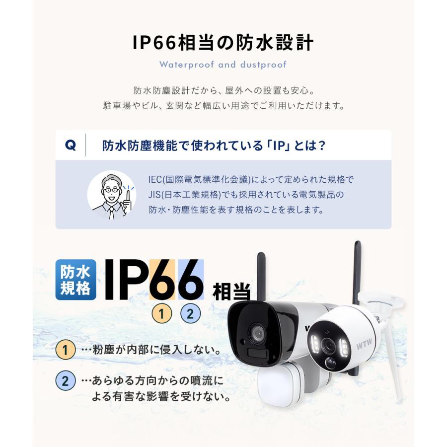 防犯カメラ  ワイヤレス 屋外  防犯灯 wifi 監視カメラ|wtw|13
