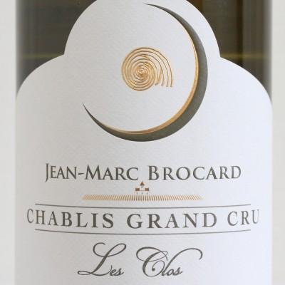シャブリ・グランクリュ・レ・クロ 2018 ジャン・マルク・ブロカール 白ワイン ※正規品