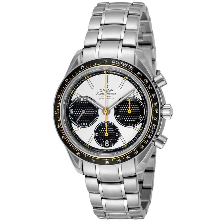ad08b301e9 オメガ OMEGA 腕時計 メンズウォッチ スピードマスターレーシング コーアクシャル 326.30.40.50.04.001 メンズ