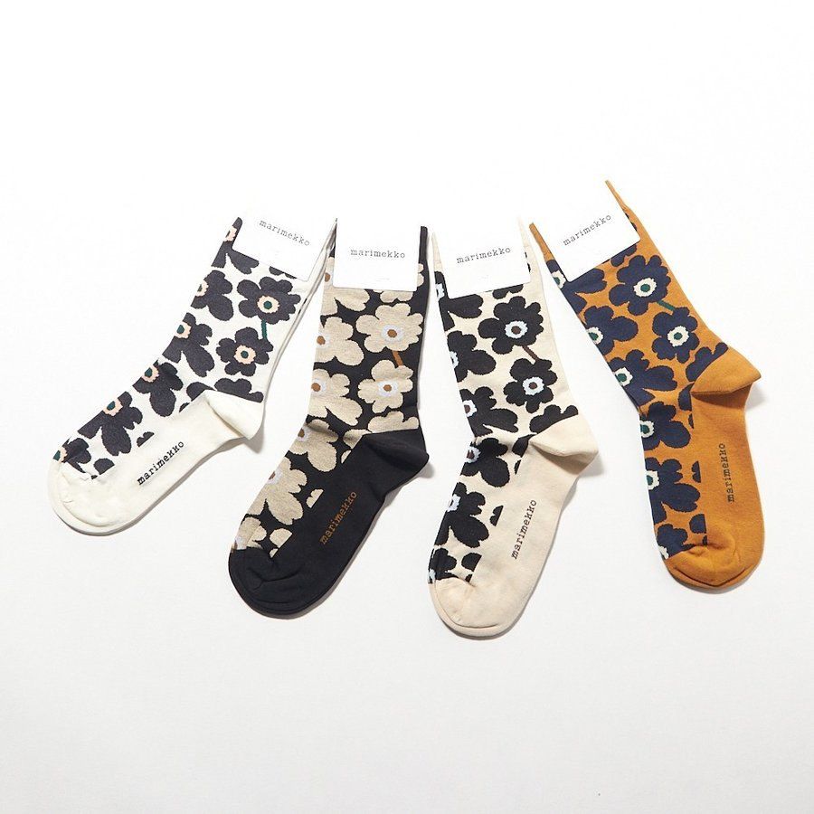 6255b3250cbb マリメッコ MARIMEKKO ソックス 靴下 HIETA ヒエタ 46574 選べるカラー ...