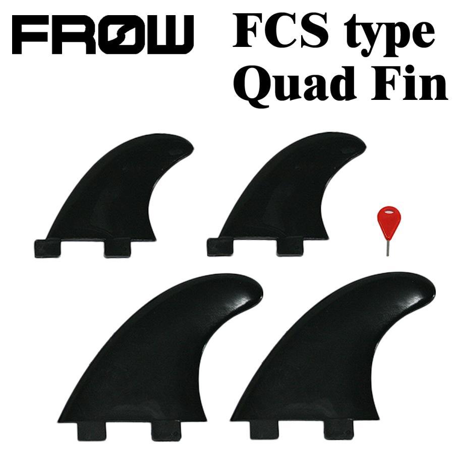 サーフィン フィン サーフボード FCS エフシーエス対応 ブラック G5&GL クアッドフィン|x-sports