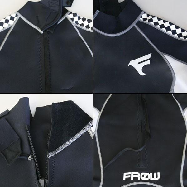 ウェットスーツ スプリング メンズ 2mm ウエットスーツ ダイビング サーフィン FROW x-sports 02