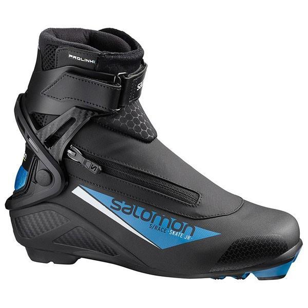 サロモン SALOMON クロスカントリースキー ブーツ プロリンク S/レーススケート ジュニア 405564 2018-2019モデル