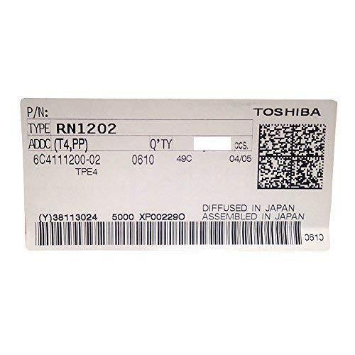 TOSHIBA(東芝) NPN デジタルトランジスタ 10kΩ RN1202(T4 PP) (10個セット) xcellentjo 02