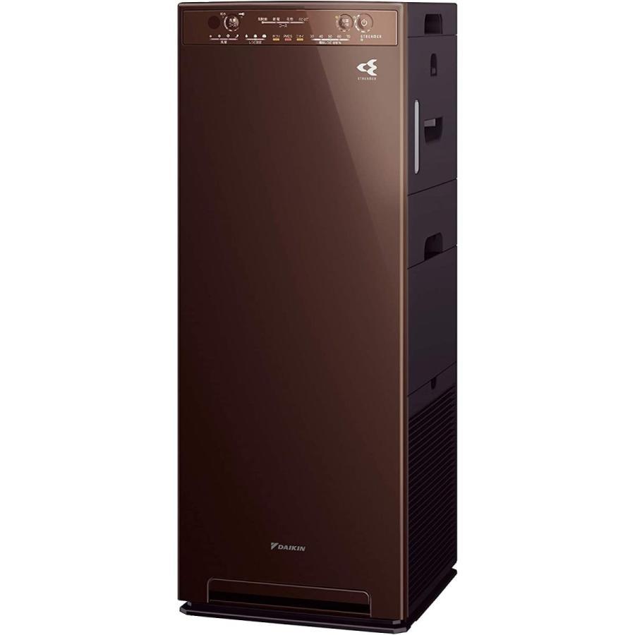 DAIKIN 加湿ストリーマ空気清浄機 ディープブラウン MCK55W-T
