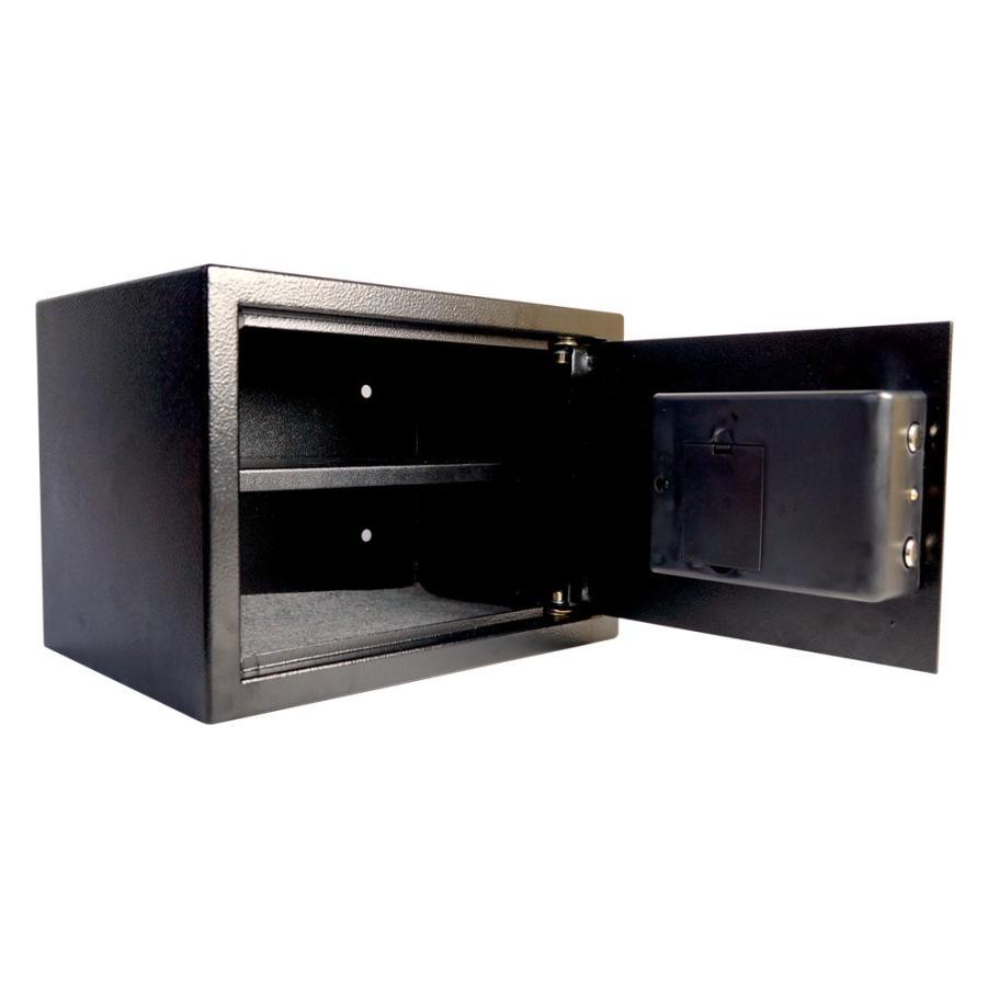 金庫 家庭用 業務用 A4サイズ 大きい 16.5L テンキー 防犯金庫 保管庫 防犯 鍵付 電子金庫 9kg 送料無 XB005|xzakaworld|11