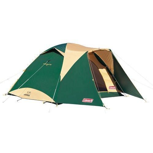 コールマン(Coleman) テント タフワイドドーム4 300 グリーン/ベージュ 4·6人用 2000017860