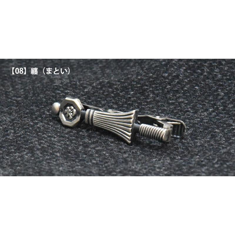 ネクタイピン おしゃれ 大人趣味 モチーフ タイバー プレゼント 日本製 チョイワル おもしろ ユニーク 銃 手錠 ダーツ カジノ トランプ|y-cravat-ueda|09