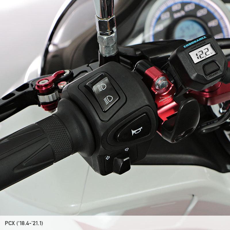 【ENDURANCE】CT125 ハンターカブ JA55 グリップヒーターセット HG115 ホットグリップ/電圧計付/5段階調整|y-endurance|03