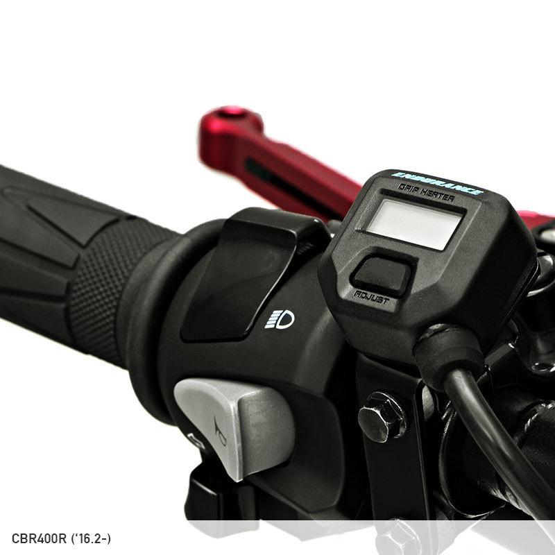 【ENDURANCE】CT125 ハンターカブ JA55 グリップヒーターセット HG115 ホットグリップ/電圧計付/5段階調整|y-endurance|06