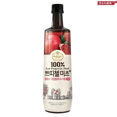 韓国食品]2013 新しくリニューアルした プティチェル ミチョ 美酢(ミチョ) 900ml x 7本セット