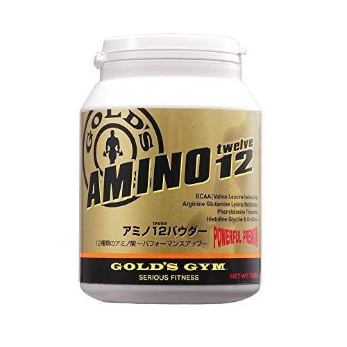 ゴールドジム(ゴールド'S GYM) アミノ12パウダー 300g