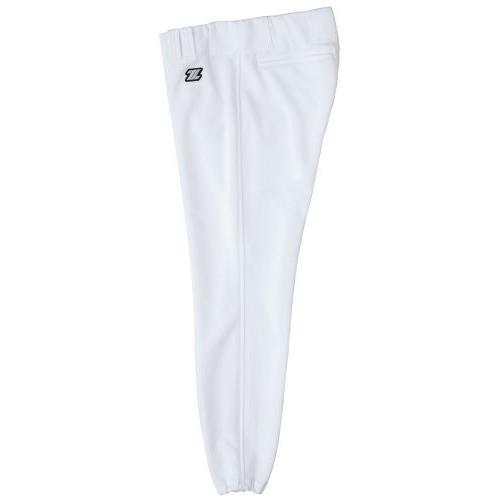 ZETT(ゼット) 野球 ユニフォーム パンツ (アメリカンロング) BU1072ALA ホワイト S