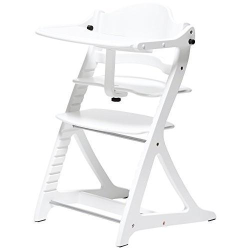 大和屋 すくすくチェアプラス テーブル付 ホワイトWH ホワイトWH 1505 使いやすく進化し続けるロングセラーのベビーチェア