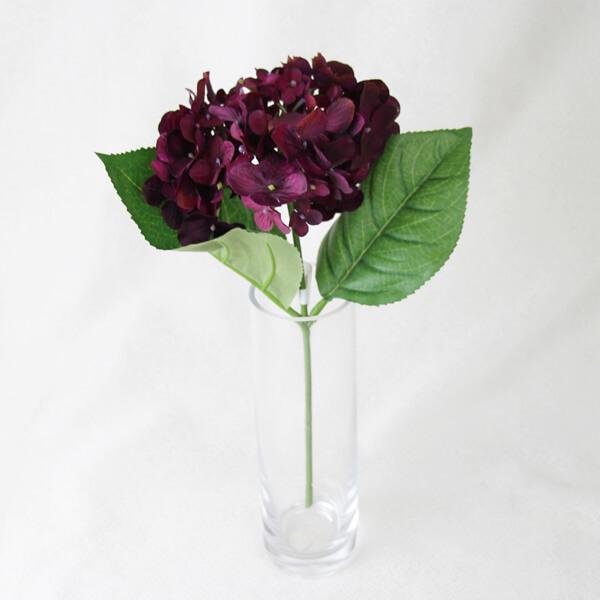 驚きの値段で 《 造花 》 とりよせ品 ハイドランジアピック 新着 Parer プラム