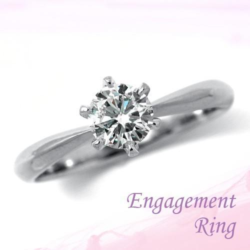 美品  婚約指輪 プラチナ ダイヤモンドエンゲージリング 1.02ct Dカラー SI1 トリプルエクセレントカット GIA鑑定, 激安通販新作 e69aa5a0