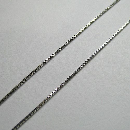 第一ネット プラチナネックレス チェーン ベネチアン 0.7mm, KINGS b4115ed6