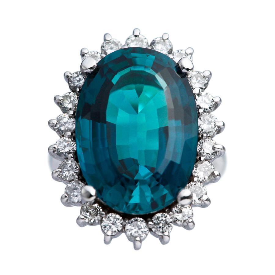 新しい 最高級品質 最高級品質 プラチナ インディゴブルー ダイヤモンド トルマリン 16.32ct 1.44ct ダイヤモンド 1.44ct リング, クリハラグン:677291b0 --- airmodconsu.dominiotemporario.com