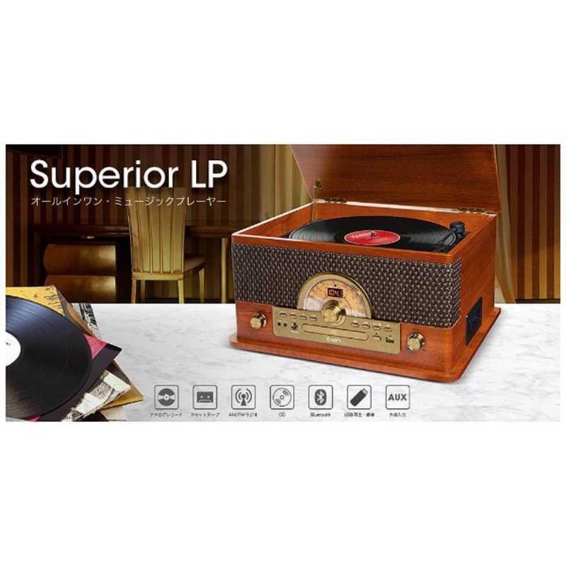 驚きの値段で IONAUDIO USB端子搭載レコードプレーヤー 新色追加 LP Superior